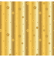 stars gold background cartoon wave vector image