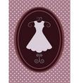 vintage fashion background vector image