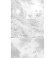 vintage halftone backgrounds scattered black dots vector image