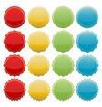 colorful seals vector image
