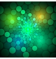 abstract bright background with circles vector image