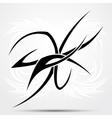 Wave tribal tattoo vector image