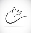 Rat design vector image