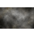 Dark smoke background vector image