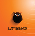 halloween owl background 2508 vector image