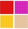 seamless vintage floral patterns set vector image
