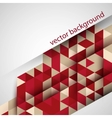 Abstract geometric background triangle and vector image