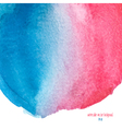 red and blue watercolor background vector image
