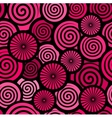 retro red abstract background vector image vector image