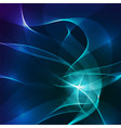 Abstract blue and violet lights background vector image