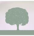 Vintage Tree Design EPS 8 vector image