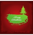 grunge xmas background vector image vector image