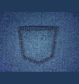background wtih jeans texture vector image