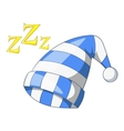 Sleeping cap icon cartoon style vector image