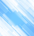 Abstract Lines Blue Background vector image
