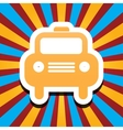 icon car vector image vector image