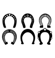 horseshoes vector image