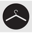 information icon - clothes hanger vector image