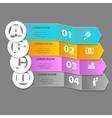 Elegant EPS10 Infographics vector image