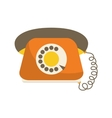 Phone icon Retro design graphic vector image