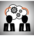 Process design strategy and technology concept vector image