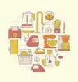 House appliances concept vector image