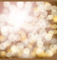 abstract bokeh effect background vector image
