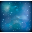 blue space vector image