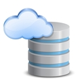 Online backup icon vector image vector image