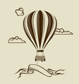 air balloon image vector image