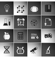 Education Icons Set Vol 2 vector image vector image
