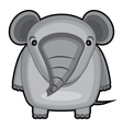 cartoon of a baby elephant vector image
