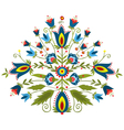Polish embroidery design inspiration vector image