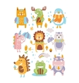 Animal Woodland Autumn vector image