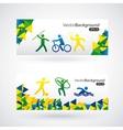 olimpics games design vector image