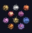 disco balls club sphere glitter retro party vector image