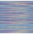 Seamless Knitted Melange Pattern vector image