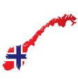 Norway vector image vector image