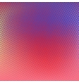 Halftone background Red blue color vector image