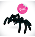 Glossy Spider vector image