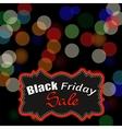 Black Friday Sticker vector image vector image