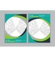 green frame book cover vector image
