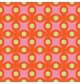 Circle and rhombus abstract seamless pattern vector image