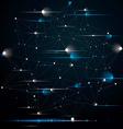 Spatial technological contrast shine shape vector image