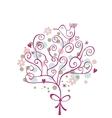 Festive Tree vector image