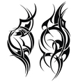 Hand Drawn Tribal Tattoo vector image
