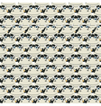 Stacked cows pattern vector image