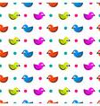 Birdie pattern vector image