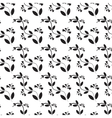 Flower seamless pattern vector image