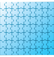 Puzzle wallpaper pattern vector image